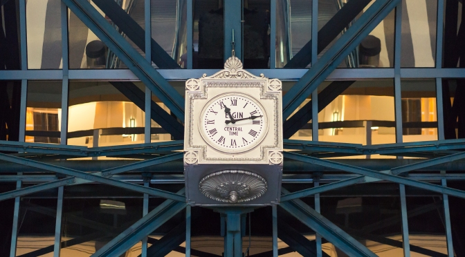 Elgin Time at the Chicago Ogilvie Transportation Center