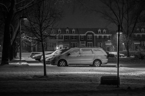 Snowy Suburban life