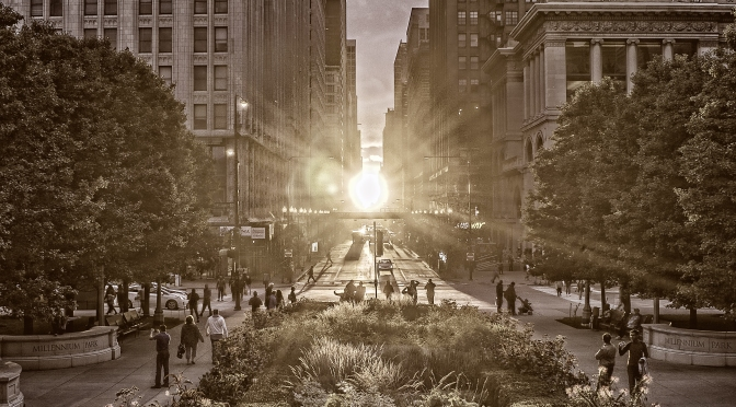 Chicago Henge stretch