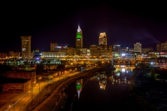 Cleveland is probably the most under rated city in the USA. There's a lot to offer even though it's population is around 350,000.