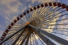 The Ferris Wheel is about to be taken down in Chicago's Navy Pier in favor of a much larger one for 2016.